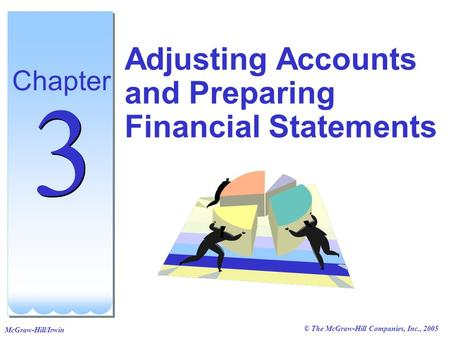© The McGraw-Hill Companies, Inc., 2005 McGraw-Hill/Irwin Adjusting Accounts and Preparing Financial Statements Chapter 3 3.
