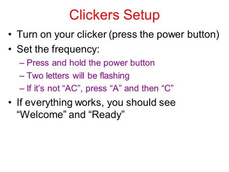how to turn on iclicker+