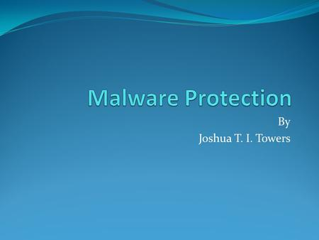 "By Joshua T. I. Towers. 13.3 $13.3 billion was the direct cost of malware for business in 2006 ""direct costs are defined as labor costs to analyze, repair."