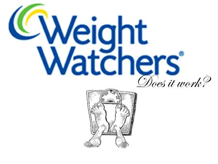 Does it work?. How does Weight Watchers work? Weight Watchers helps men and women to lose weight by getting them to become more aware of their calorie.