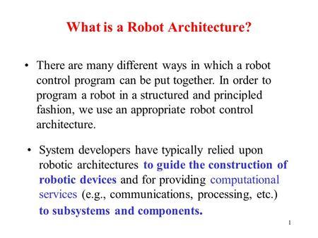 Telerobotics A New Paradigm Ppt Download