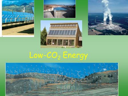 Low-CO 2 Energy.