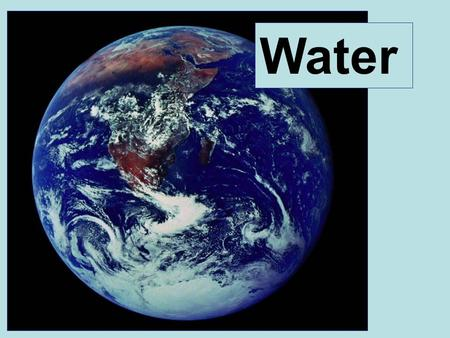 Water. I.Water and hydrogen bonding II.Properties of water III.Acids and bases A bit about water....