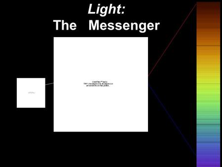 © 2005 Pearson Education Inc., publishing as Addison-Wesley Light: The Messenger.