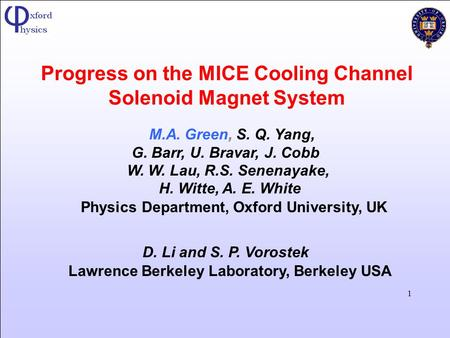 Progress on the MICE Cooling Channel Solenoid Magnet System