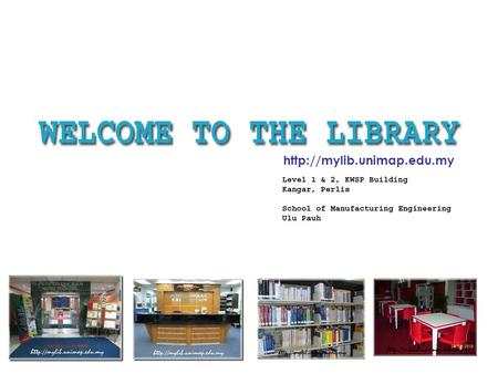You can visit our library at KWSP Building or Ulu Pauh Kampus to have access to our printed materials.