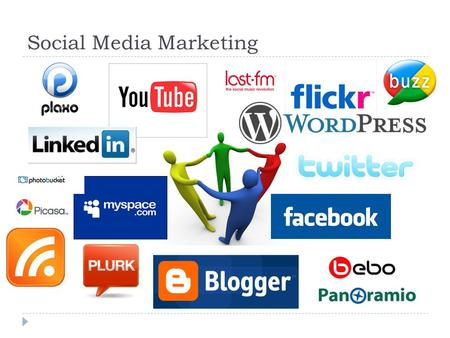 Social Media Marketing. 1 What is Social Media Marketing?  Social Media defined as a group of Internet applications that build upon Web 2.0, and that.