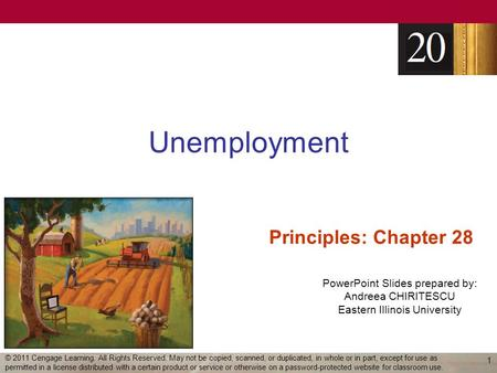 Unemployment Principles: Chapter 28
