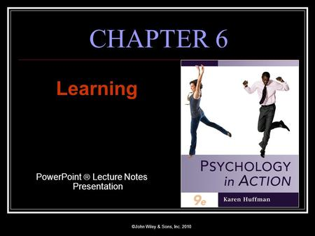 PowerPoint  Lecture Notes Presentation