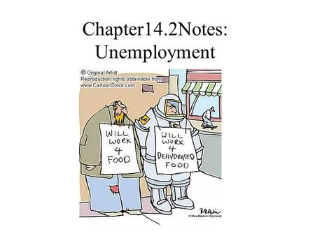 Chapter14.2Notes: Unemployment. I.Measuring unemployment A. To be considered unemployment, you must meet the following: 1. > 18 yrs. old 2. Available.