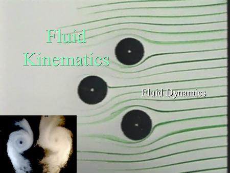 Fluid Kinematics Fluid Dynamics . Fluid Flow Concepts and Reynolds Transport Theorem ä Descriptions of: ä fluid motion ä fluid flows ä temporal and spatial.
