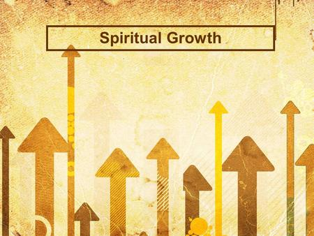 Spiritual Growth. John 6:66-68 From this time many of his disciples turned back and no longer followed him. You do not want to leave too, do you? Jesus.