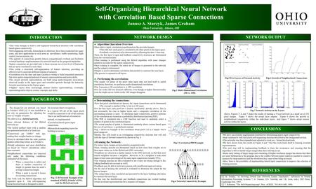 Self-Organizing Hierarchical Neural Network