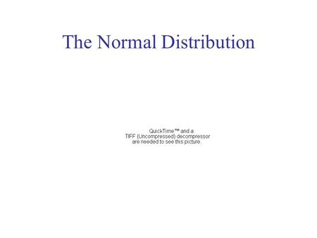 The Normal Distribution. n = 20,290  = 2622.0  = 2037.9 Population.