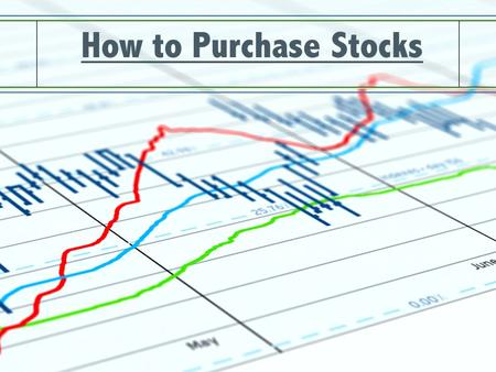 how to buy shares in a compnay