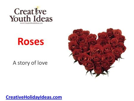 Roses A story of love CreativeHolidayIdeas.com. Red roses were her favorites, her name was also Rose. And every year her husband sent them, tied with.