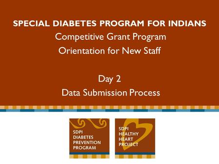 SPECIAL DIABETES PROGRAM FOR INDIANS Competitive Grant Program Special Diabetes Program for Indians Competitive Grant Program SPECIAL DIABETES PROGRAM.