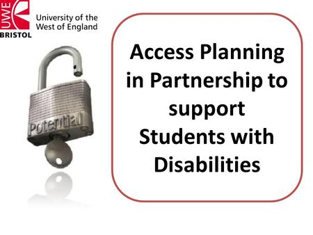 Access Planning in Partnership to support Students with Disabilities.