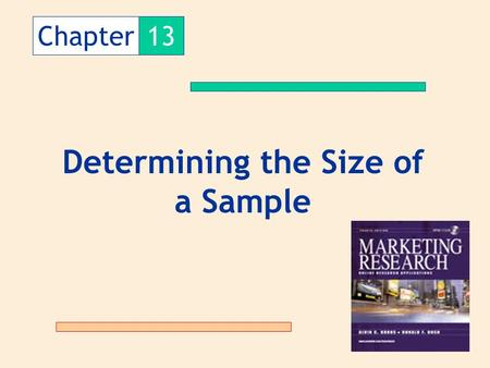 Determining the Size of