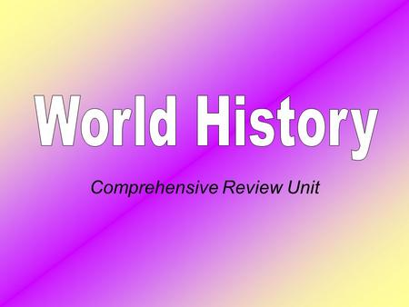 Comprehensive Review Unit Legacy of Ancient Greece and Rome Democratic ideas first develop in Greece in limited form around 500 B.C. The concept of a.