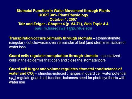 plant physiology taiz 2010 pdf