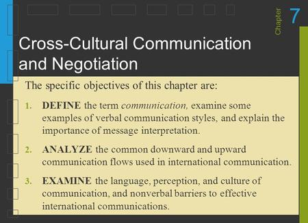 examples of cultural barriers to effective communication
