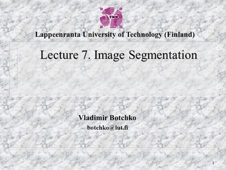 Lappeenranta University of Technology (Finland)