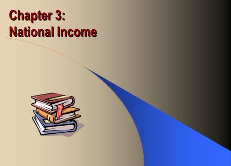 Chapter 3: National Income. Production Function Output of goods and services as a function of factor inputs Y = F(K, L) Y = product output K = capital.