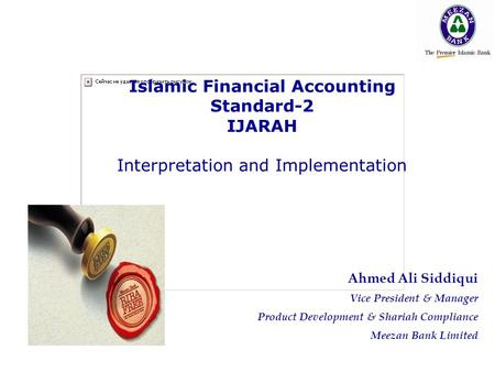 Islamic Financial Accounting Standard-2