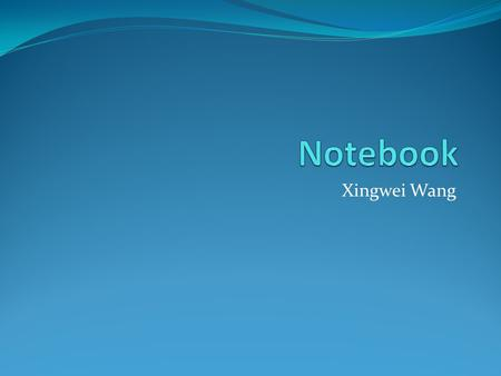 Xingwei Wang. Lab. Notebook Hard Cover Official Lab Notebook Numbered Pages 1 st Page,Table of Contents Name & ID number Section number.