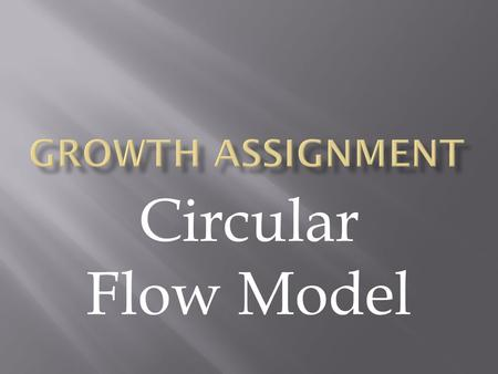 Circular Flow Model. The circular flow model is an economic model that illustrates the interdependence that exists between the different sectors operating.