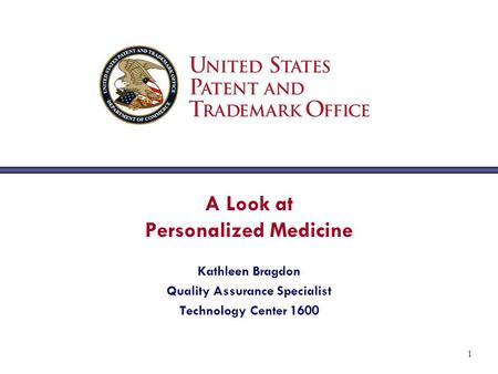 A Look at Personalized Medicine Quality Assurance Specialist