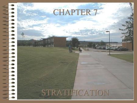 CHAPTER 7 STRATIFICATION