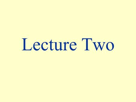 Lecture Two. Historical Background of Special Relativity.