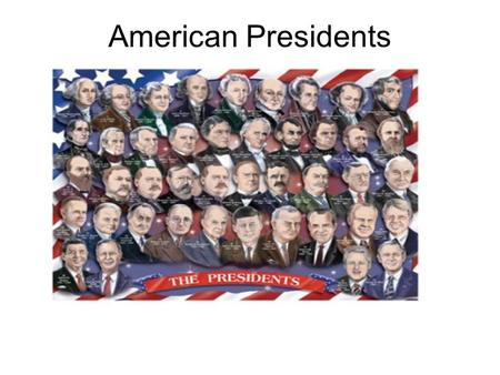 American Presidents. Constitution Article 2 establishes the second of the three branches of government, the Executive. Section 1 establishes the office.