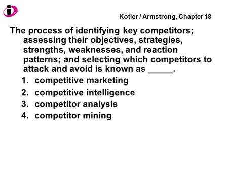 Kotler / Armstrong, Chapter 18