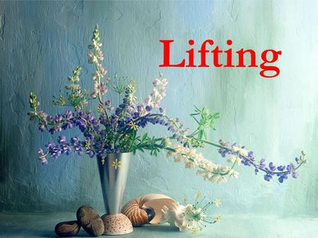 Lifting Lifting process is applied frequently by most of the people, so it's very necessary to know the loads during lifting, include the weight of the.