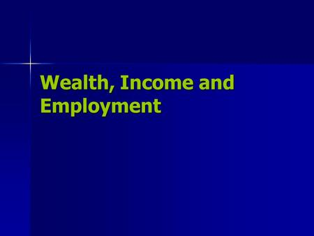 Wealth, Income and Employment. The Profit Formula Profit = Revenue – Expenses Profit: the money left over after a business pays all of its expenses Revenue: