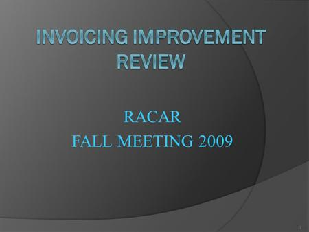 RACAR FALL MEETING 2009 1. Topics of Discussion  System Requirements  Linking to SCT Banner ® Tables using ODBC data sources  Creating queries and.