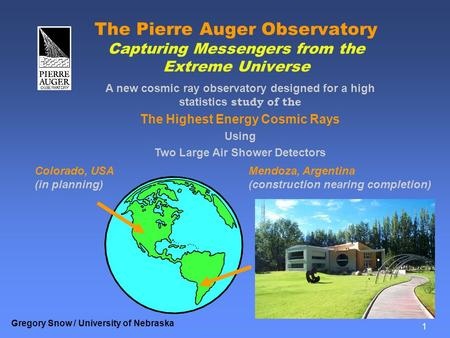 The Highest Energy Cosmic Rays Two Large Air Shower Detectors