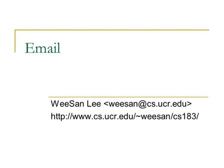 WeeSan Lee