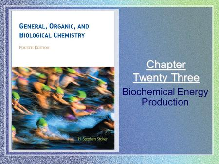 Biochemical Energy Production