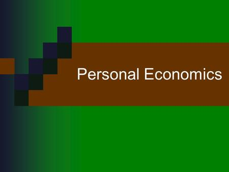 Personal Economics. Money vs. Currency Money: something that people will accept in exchange for goods or services. Currency: the part of the money supply.