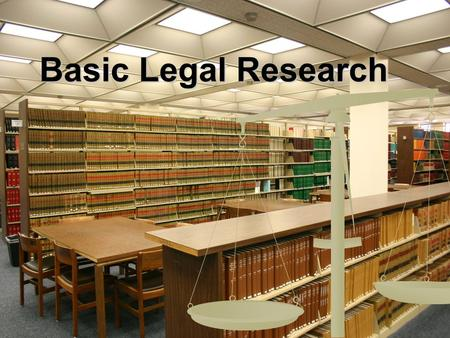 Basic Legal Research. Primary & Secondary Sources Primary Primary Statutes (Codes) Statutes (Codes) Administrative Regulations Administrative Regulations.