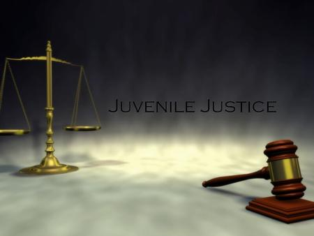 Juvenile Justice. Early History  Early in U.S. history, children who broke the law were treated the same as adult criminals.  The first juvenile court.