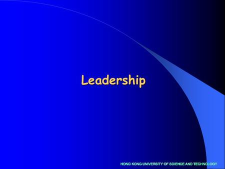 "Leadership. Objectives Contrast and compare ""management"" and ""leadership"" Contrast and compare ""management"" and ""leadership"" Explain clearly the role."