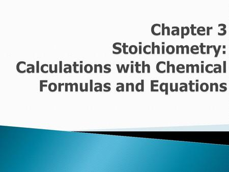 Stoichiometry  is one where the substance retains its identity.   Examples of physical reactions: ◦ melting / freezing ◦ boiling / condensing ◦ subliming.