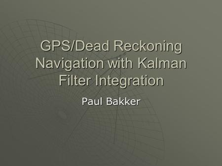 December Simulation Of Tightly Coupled Ins Gps Navigator