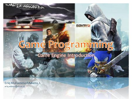 Game Engine Introduction