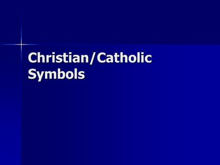 Christian/Catholic Symbols. CHI-RHO The letters X and P are often used as another symbol for Christ. The letters X and P are often used as another symbol.